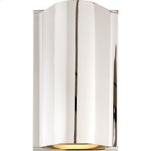 Visual Comfort KW2704PN-FG Kelly Wearstler Avant LED 7 inch Polished Nickel Wall Sconce Wall Light