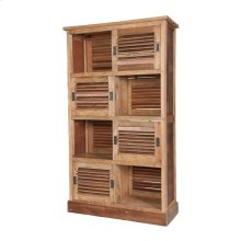 RECLAIMED LOUVRED CABINET