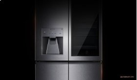 LG SIGNATURE 23 cu. ft. InstaView Door-in-Door® Counter-Depth Refrigerator