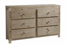 Drawer Dresser - Natural Finish