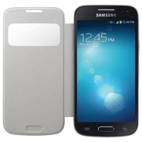 Galaxy S 4 mini S-View Flip Cover, White