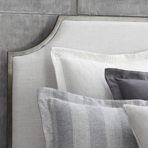 Cal King Palisades Upholstered Panel Bed