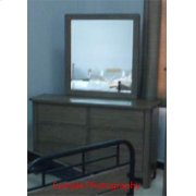 CLEARANCE ITEM--Dresser & Mirror Product Image