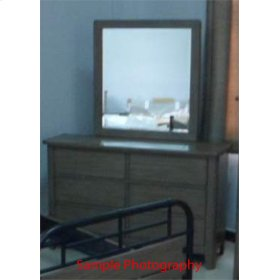 CLEARANCE ITEM--Dresser & Mirror