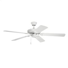 "52"" Basics Fan Collection 52 Inch Kichler Basics Fan - WH"