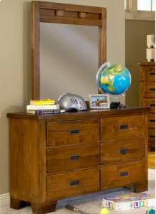 Double Dresser and Vertical Mirror