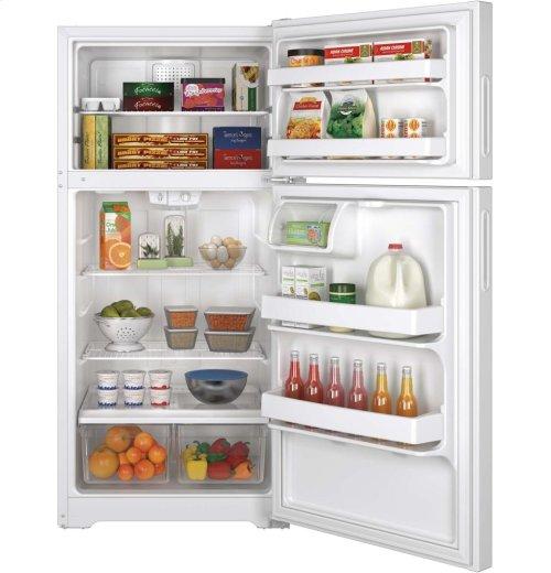 Hotpoint® ENERGY STAR® 14.6 Cu. Ft. Recessed Handle Top-Freezer Refrigerator