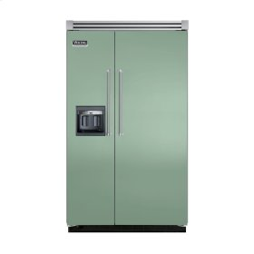 "Sage 48"" Side-by-Side Refrigerator/Freezer with Dispenser - VISB (Integrated Installation)"