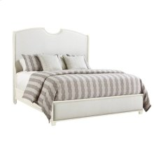 Oasis-Solstice Canyon Shelter Bed Queen Size in Saltbox White