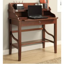 """Cherry"" Transitional Laptop Desk with Lift Top & Pull-out Tray"