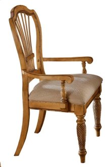 Wilshire Dining Arm Chair Antique Pine
