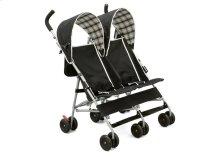 DX Side x Side Stroller - Black\/Plaid (007)