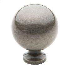 Antique Nickel Spherical Knob