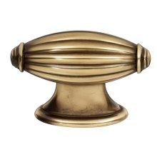 Tuscany Knob A231 - Polished Antique