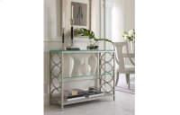 Cinema by Rachael Ray Glass Top Sofa Table Product Image