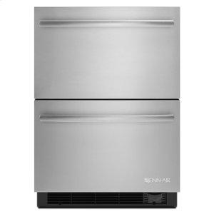 "Jenn-AirEuro-Style 24"" Refrigerator/Freezer Drawers"