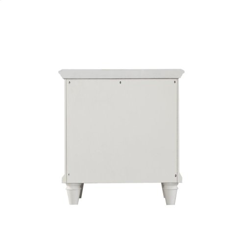 Emerald Home Home Decor 2 Drawer Night Stand-white B381-04wht