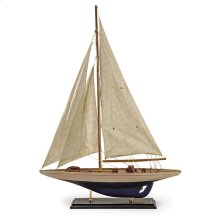 Colossal Antiqued Sailing Vessel