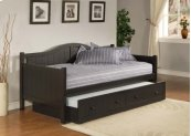 Staci Trundle Daybed Black