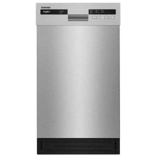 Small-Space Compact Dishwasher with Stainless Steel Tub