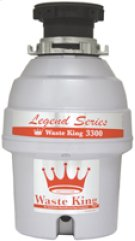 Waste King Legend 3300 3/4 Horsepower Disposer Product Image