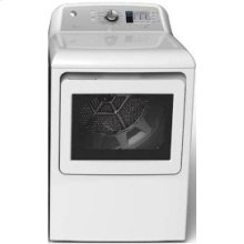 GE 7.3 cu ft.capacity DuraDrum2 electric dryer with Sensor Dry