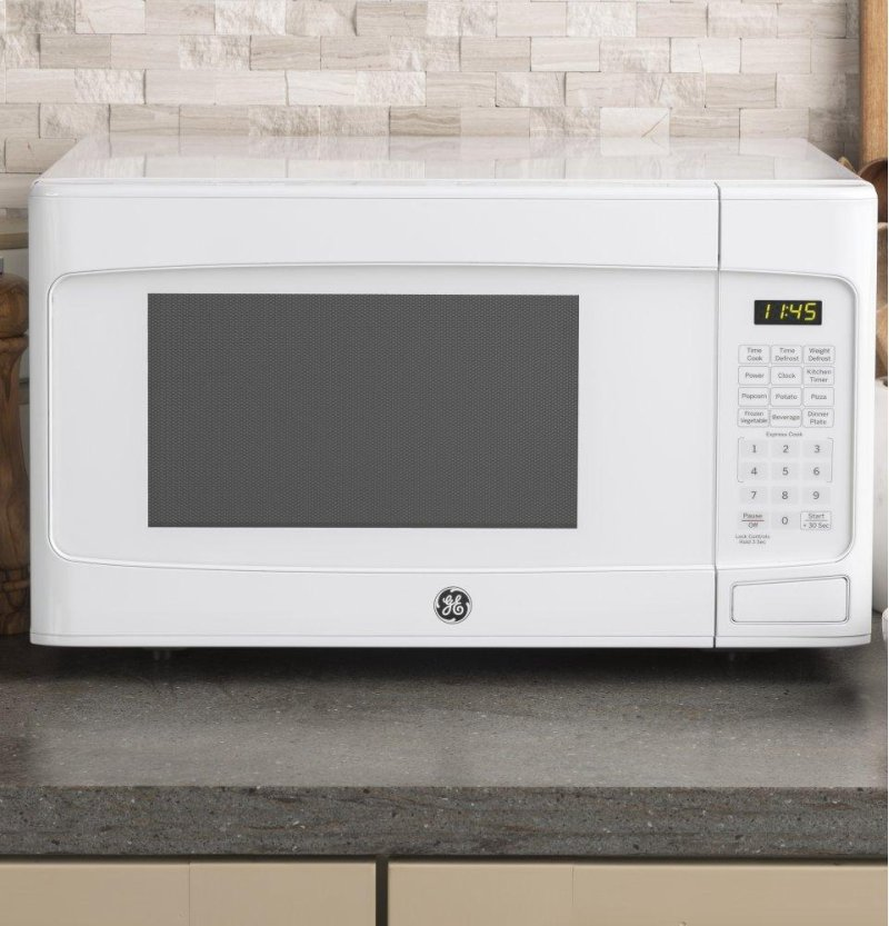Ge 1 Cu Ft Capacity Countertop Microwave Oven