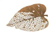 Birch Leaf Wall Art, Copper, LG