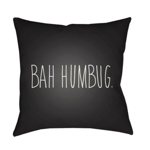 "Bahhumbug HDY-004 18"" x 18"""