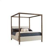 Panavista Archetype Canopy Bed - Quicksilver / Queen