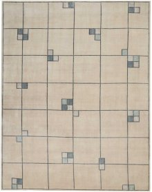 Christopher Guy Wool & Silk Collection Cgs04 Mediterranean Sand Rectangle Rug 8' X 10'