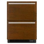 "JENNAIR CANADAPanel-Ready 24"" Double Drawer Refrigerator/Freezer, Stainless Steel"