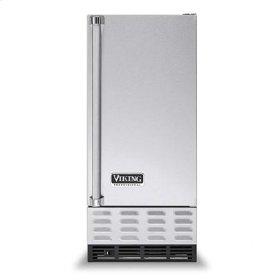 """Black 15"""" Undercounter/Freestanding Ice Machine - VUIM ((right hinge))"""