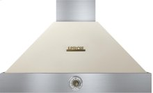 Hood DECO 36'' Cream matte, Bronze 1 blower, analog control, baffle filters