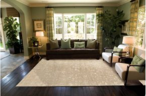 SILK SHADOWS SHA03 LGD RECTANGLE RUG 5'6'' x 7'5''