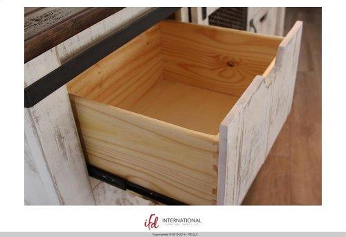 6 Drawer, 1 Mesh door Dresser