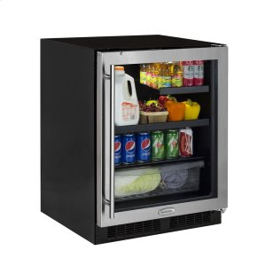 Marvel24-In Low Profile Built-In Beverage Refrigerator with Door Swing - Right