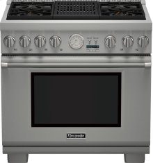 36-Inch Pro Grand Commercial Depth All Gas Range PRG364NLG