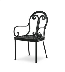Augustine Metal Dining Arm Chair