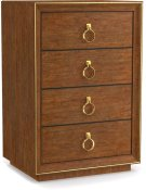 Roman Four-Drawer Nightstand Product Image