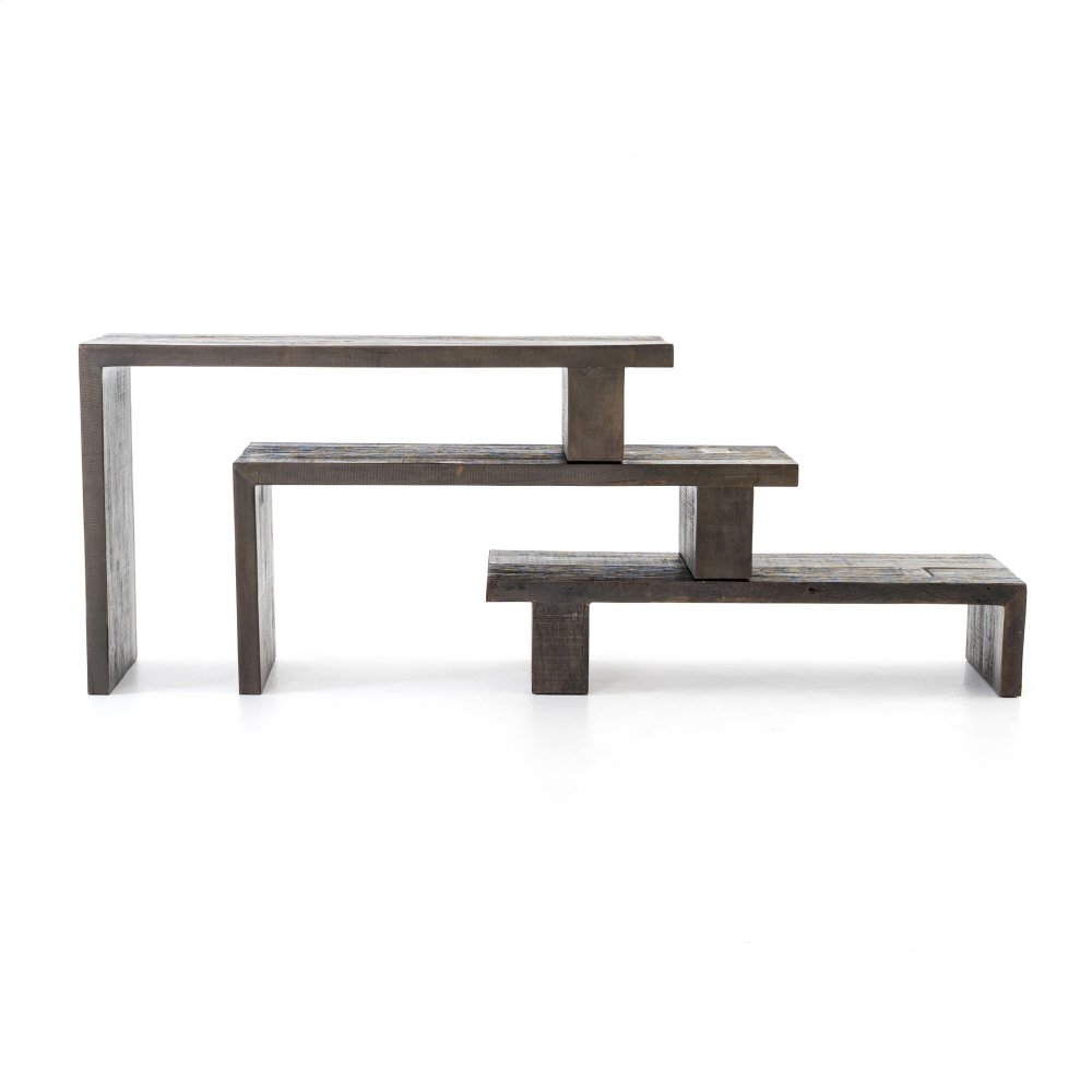 Black Peroba Finish Ferris Nesting Console Table