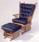 4 post solid oak glider Product Image
