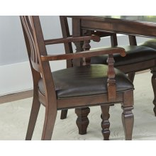 Estate Slat Back Arm Chair