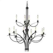 12 - Light Multi Tier Chandelier