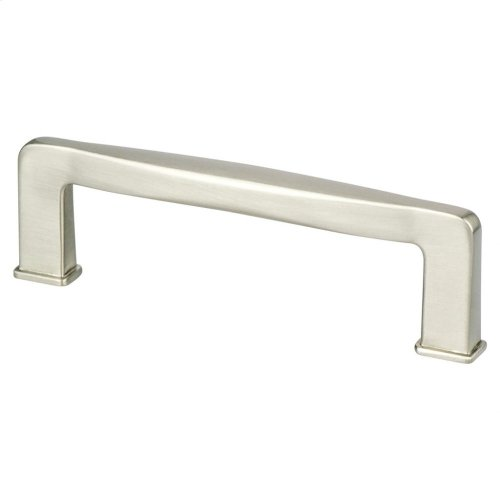 Subtle Surge 96mm CC Brushed Nickel Pull