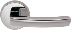Interior Modern Lever Latchset in (US26 Polished Chrome Plated)