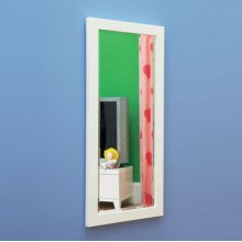 LittleMissMatched™ SKETCHoRAMA Vertical Wall Mirror