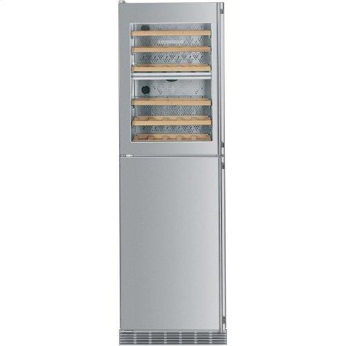 "24"" Built-in Wine Cabinet/Freezer w/ice maker left hinge"
