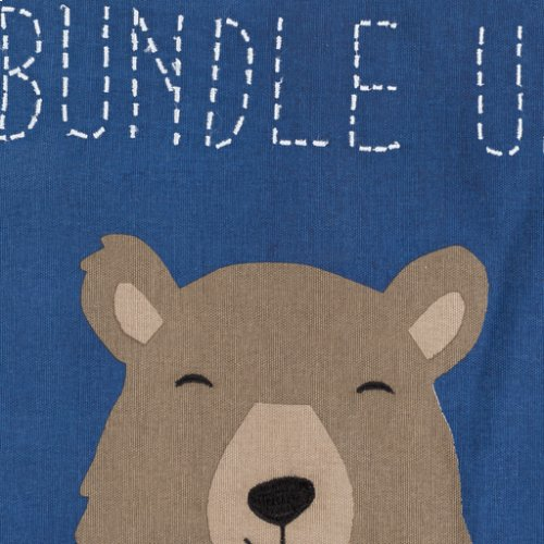 "Bundle Up Bear BUB-001 20"" x 20"""