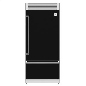 "Hestan36"" Pro Style Bottom Mount, Top Compressor Refrigerator - KRP Series - Stealth"